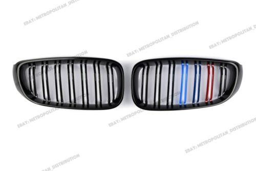 Nero BMW SERIE 3 GT GRAN TURISMO Griglia F34 M4 doppia barra M POWER 3 Tri Colour