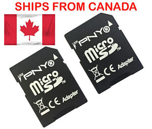 2PCS-PNY-Micro-SD-TO-SD-Memory-Card-Adapter-Card-Converter-SDHC