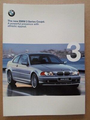 BMW 3er Compact PROSPEKT 1 1999