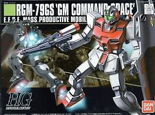 [012] BANDAI MODEL KIT HGUC GM COMMAND SPACE RGM 79GS SC GUNPLA SCALA 1/144