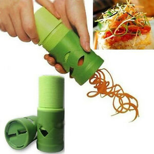 Vegetable-Fruit-DIY-Twister-Shred-Slicer-Shredder-Peeler-Cutter-Kitchen-Tool-New