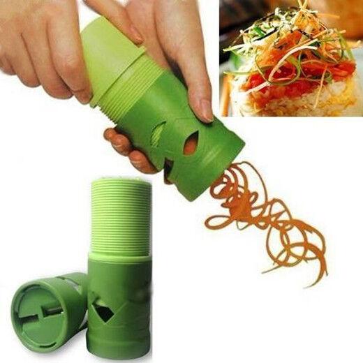 Vegetable Fruit DIY Twister Shred Slicer Shredder Peeler Cutter Kitchen Tool New