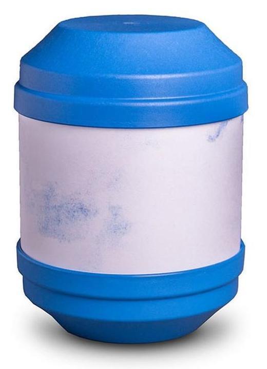 Biodégradable (bleu) Crémation Cendres Urne avec écriture surface (bleu) Biodégradable db441b