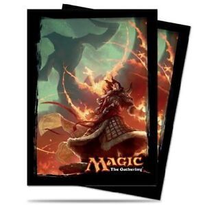 ULTRA-PRO-80-MAGIC-DECK-PROTECTOR-SLEEVES-FATE-REFORGED-V1-SARKHAN-VOL-86232-MTG