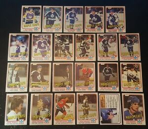 1981-82-OPC-TORONTO-MAPLE-LEAFS-Select-from-LIST-NHL-HOCKEY-CARDS-O-PEE-CHEE