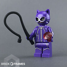 Lego Catwoman Minifigure w/ whip and gem - BRAND NEW - The Batman Movie - 70902