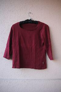 Weinrotes-Shirt-von-Street-One-Groesse-38