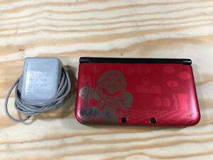 Nintendo 3ds Xl Limited Edition Super Mario Bros 2 Red Handheld