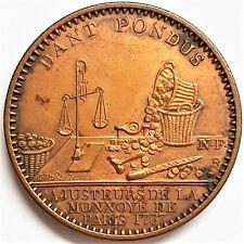 Jeton de l'administration des Monnaies