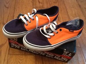 Orange Uk3 navy Unisex Bnib Vans Trainers xRWn5wxSq