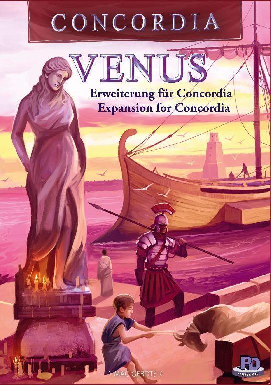 Concordia-Vénus Extension-Jeu-PD Verlag-NEUF dans sa boîte