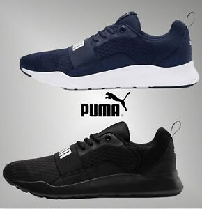 47d05b4df81 Details about Mens Genuine Puma Breathable SoftFoam Wired Trainers Running  Footwear Size 7-12