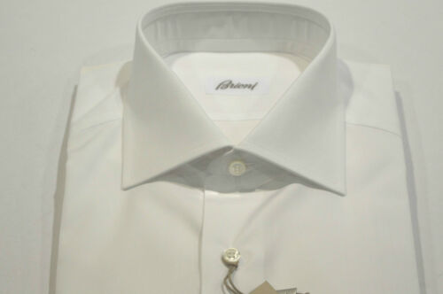 C Nieuw 45 100katoenmaat Euwinkelcode 75 overhemd us 17 Brioni White clFJK1T