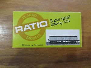 Ratio-5071-L-M-S-Bogie-Ore-Wagon-00-Gauge-4mm-scale-w-Free-ship