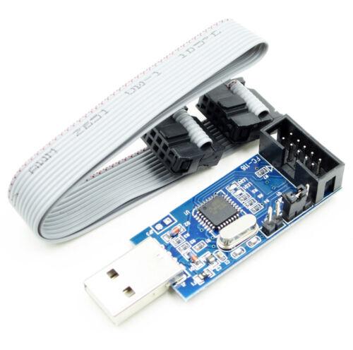 1PCS USBasp USBISP 3.3 V//5 V AVR Programmateur USB ATMEGA 8 US