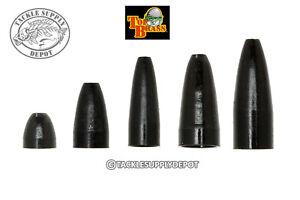 Top-Brass-Precison-Brass-Worm-Weight-Black-7pk-Pick