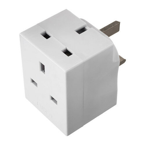 Attent Koppla Adaptor 3-way Plug Earthed Easy To Use For 3 Appliances At A Time Online Winkel