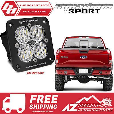 Baja Designs Squadron-R Sport Pair UTV LED Light Flood Work Pattern