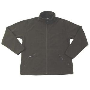 Fleece Jacket Olive For Hunting Witch Hunt Fishing Etc Size XL Trekking Hiking