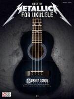 Best Of Metallica For Ukulele Sheet Music Ukulele Vocal With Tab Ukule 002502449