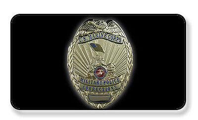 STICKER USMC Military Police Corrections Officer Badge