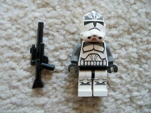 LEGO-Star-Wars-Clone-Wars-Rare-Wolfpack-Clone-Trooper-75045-Excellent