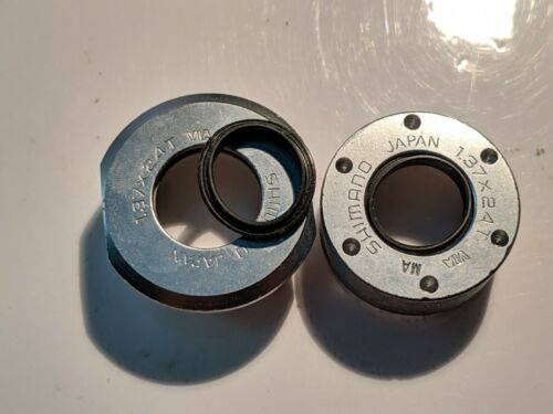 NOS Shimano Bottom Bracket Cup and cone spindle dirt dust water seals