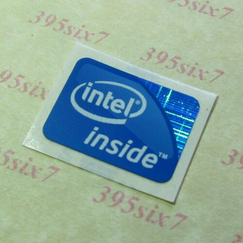 intel inside sticker 15.5mm x 21mm 2009 Version