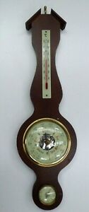 PRACISIONS-ANEROID-BAROMETER-THERMOMETER-HYGRO-MADE-IN-GERMANY