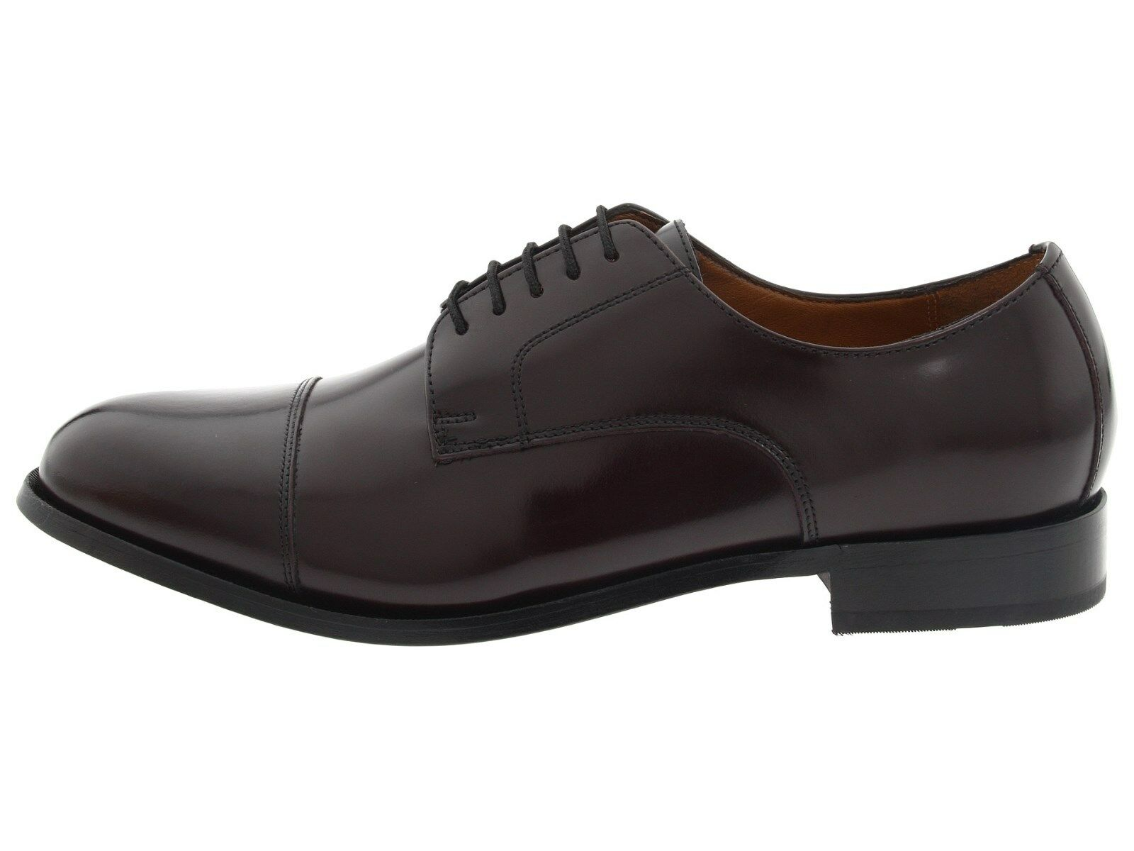 Florsheim Men's BURGUNDY Broxton Cap Toe Oxford, BURGUNDY Men's f367ae