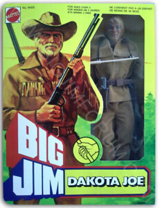 BIG JIM ☆DAKOTA JOE G.H. ☆ '78 # 9405 - PRODUZIONE EUROPA - ► NEW ◄ REPROBOX v.5