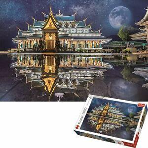 Trefl 1500 Piece Jigsaw Puzzle 1500 Wat Pa Phu Kon Thailand