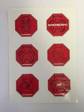 Radiohead Sticker Set From Amnesiac