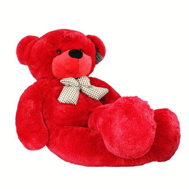 "Joyfay® Red Giant Teddy Bear 47"" 120cm Stuffed Toy Valentine Gift"