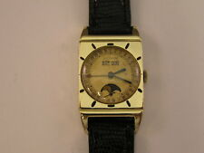 Vintage LeCoultre Triple Date Moonphase Calendar Watch 1950's cal 806/AW
