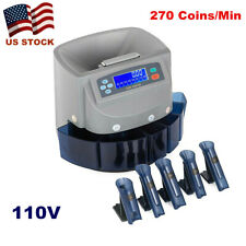 Automatic Coin Sorter Machine Counter Digital Electronic Counting Change Money