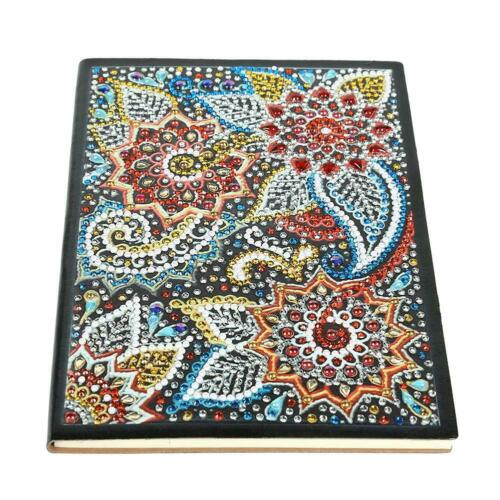 DIY Animal Special Shaped Diamond Painting Bookmark 60 Pages A5 Notebook Book