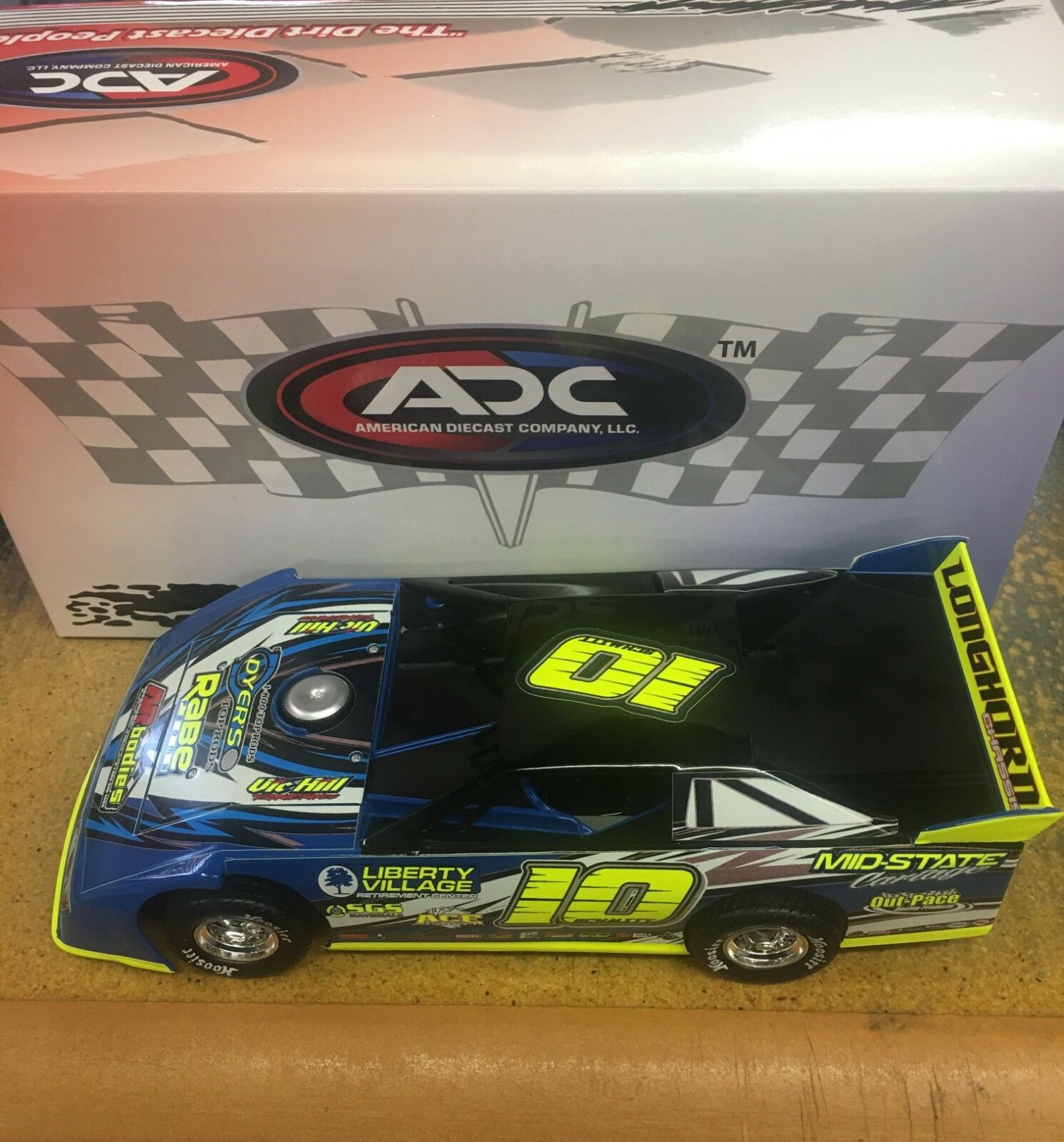 Scott Schmitt  10 Short laufen ADC Late Modelll Dirt voiture 2018   In Stock