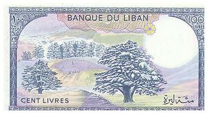 1983-100-Livres-Banknote-Lebanon-Uncirculated-Pick-66C