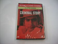 CRIMINAL STORY - DVD SIGILLATO - CLAUDE CHABROL - JEAN SEBERG
