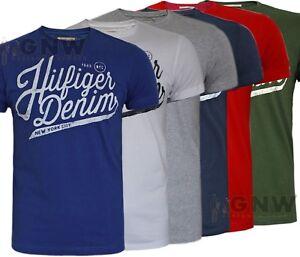 Tommy-Hilfiger-Para-Hombre-Cotton-tee-t-Camisa-S-m-l-xl-xxl-Slim-Fit-Nuevo-fue-de-35