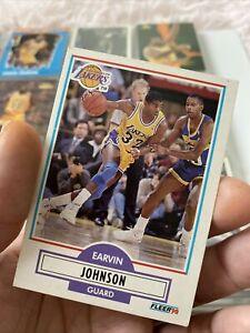 1990-1991-Fleer-Magic-Johnson-93-Basketball-Card-Los-Angeles-Lakers