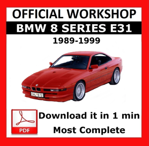 MANUALE PER OFFICINA UFFICIALE />/> Servizio di Riparazione BMW serie 8 E31 1989-1999