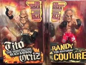 Round5 World Of Mma Champions Figurines Action Series / Ortiz / Couture 714832000007