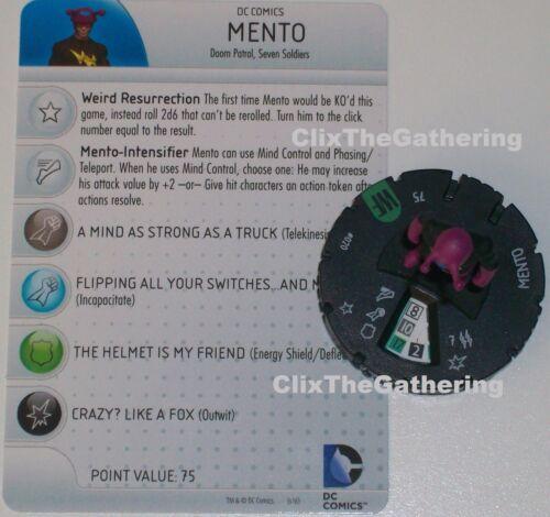 MENTO #020 #20 World/'s Finest DC HeroClix