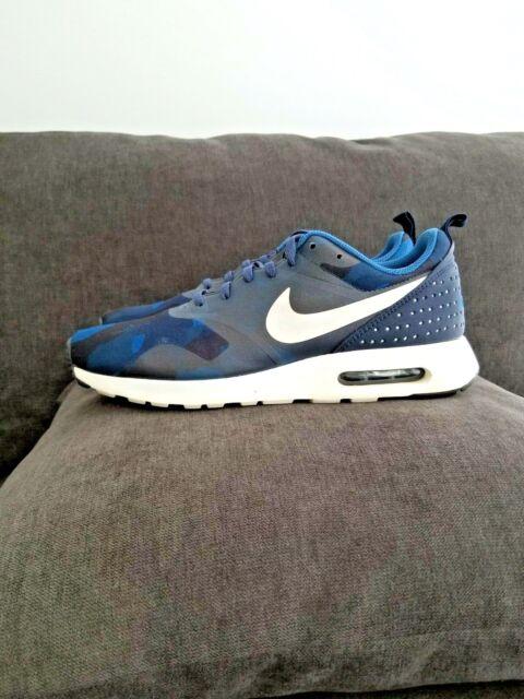 ✅Nike Air Max Tavas Men's Running Gym Shoes Size 8,5 Navy Blue