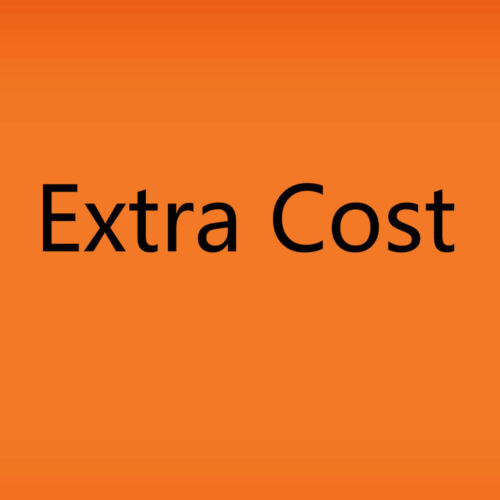 Airwolf Extra Fee//cost for the balance of your order