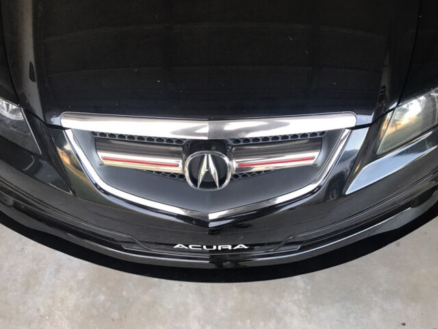 "07-08 Acura TL Type S "" Custom "" Front Bumper Lip Splitter ..."