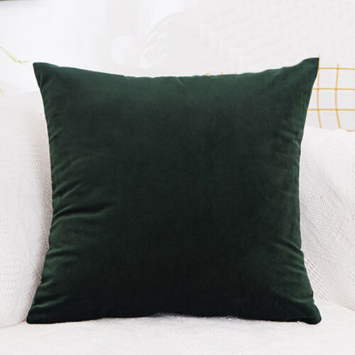 Quality Velvet Cushion Pillow Cover Pillowcase Home Decorative Sofa Pillow Case