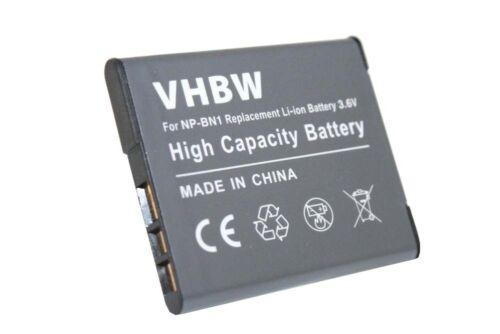 BATTERIA PER Sony Cybershot dsc-w350 w-350 DSCW 350 DSCW